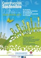 afiche construccion sostenible