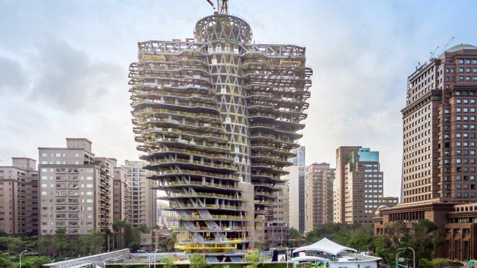 El Rascacielos De Taipei Que Ayuda Al Medio Ambiente
