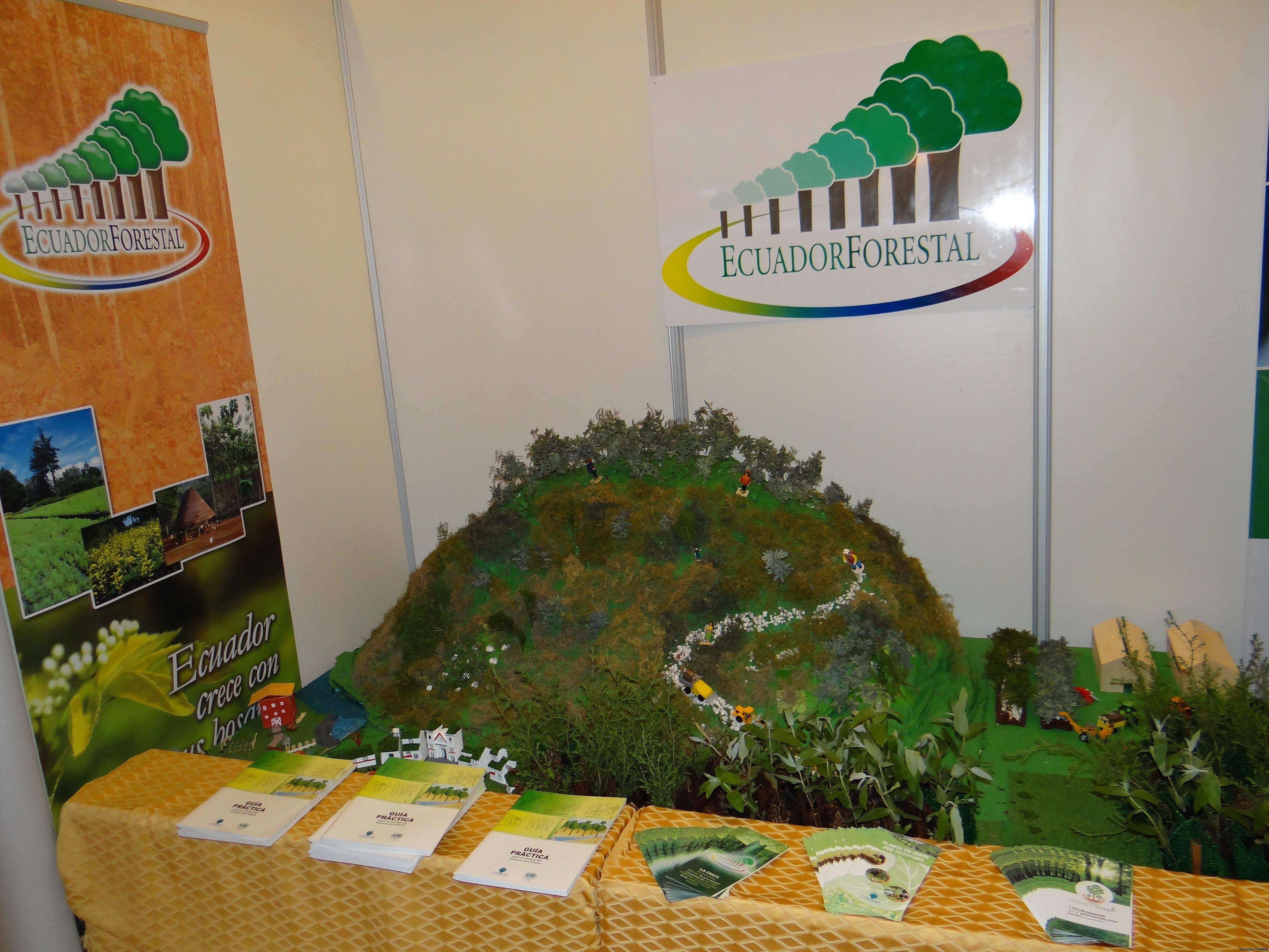 Stand de Ecuador Forestal