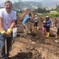 Voluntarios sembraron árboles este 14 de diciembre de 2019 para el nuevo bosque de Arupos