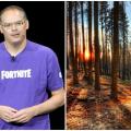 El creador de Fortnite gana millones y los invierte en salvar bosques